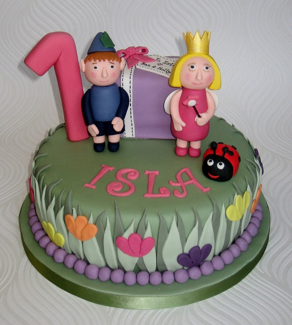 Ben and Holly Cake by pamdoherty1, via Flickr