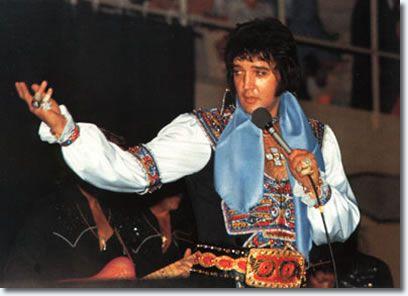 Elvis Presley Asheville Civic Center, Asheville, Nc July 23, 1975