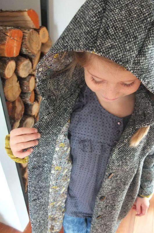 Le manteau… patron madamemaman