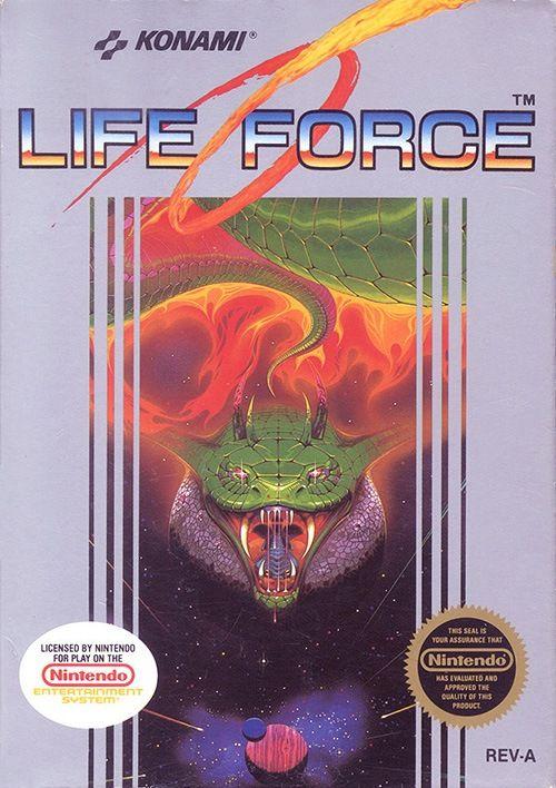 ▷ Play Life Force: Salamander on Nintendo NES | Retro Gaming