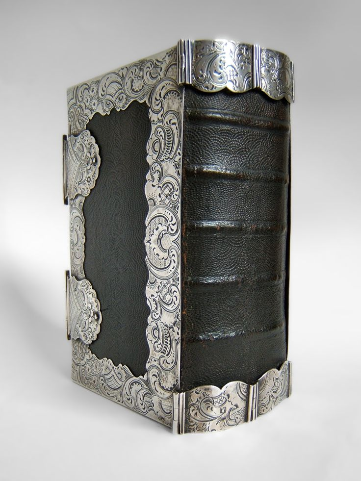 Antique Frisian Bible (protection mounts on back)