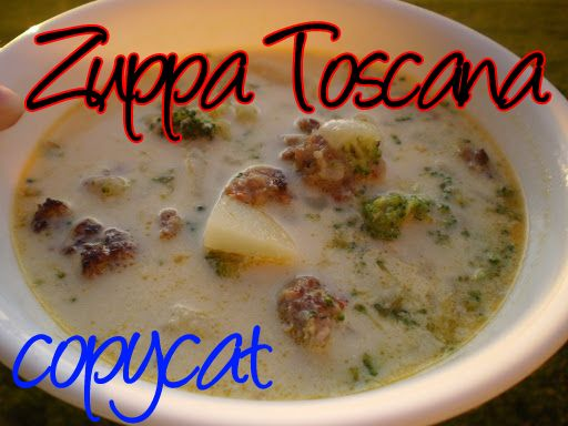how to make olive garden toscana soup