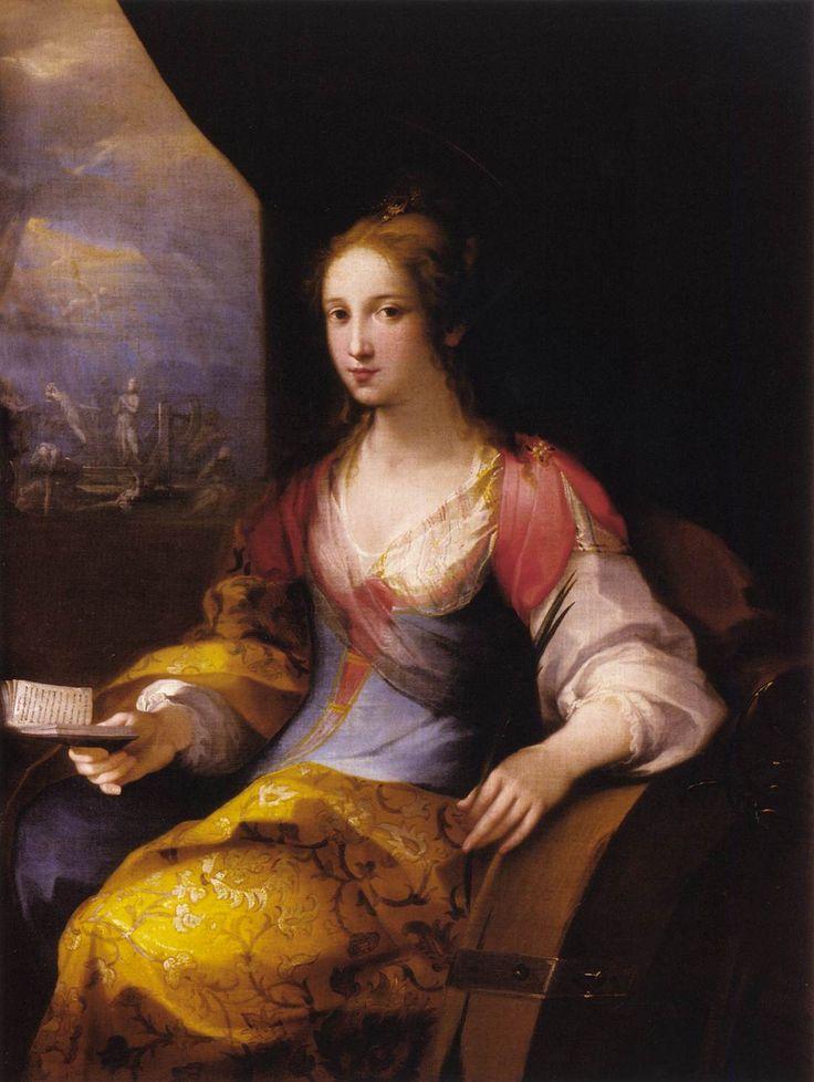SALIMBENI, Ventura St Catherine of Alexandria 1606 Oil on canvas, 127 x 96 cm Museo Nazionale di Palazzo Mansi, Lucca