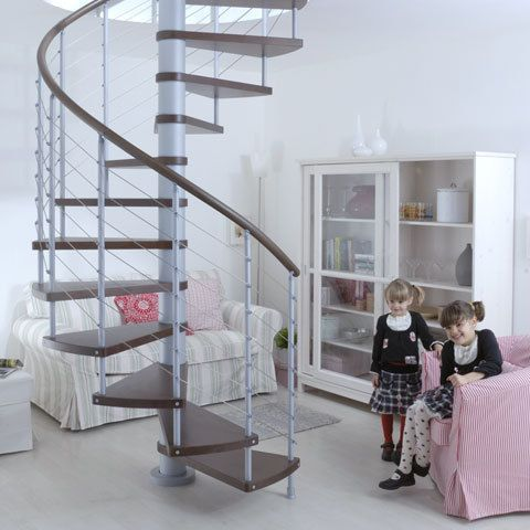 Spiral Staircases for Small Spaces Shopper's Guide   Apartment Therapy