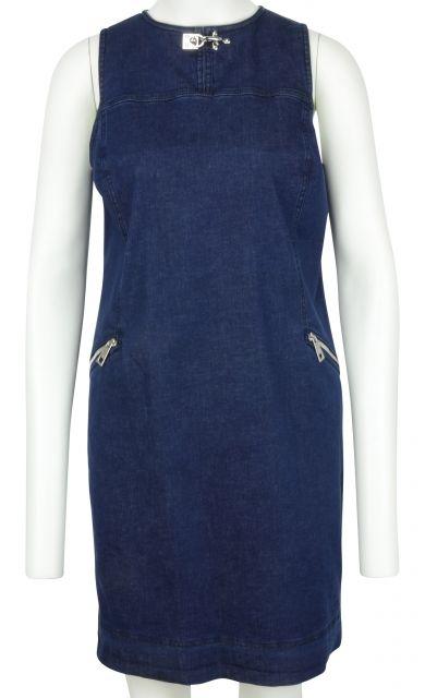 Jeans Sleeveless dress with Pockets by Fay