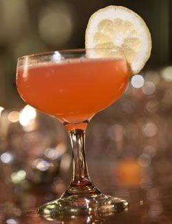 Jasmine (gin, Cointreau, lemon juice, Campari). Photo: Tony Cenicola/The New York Times