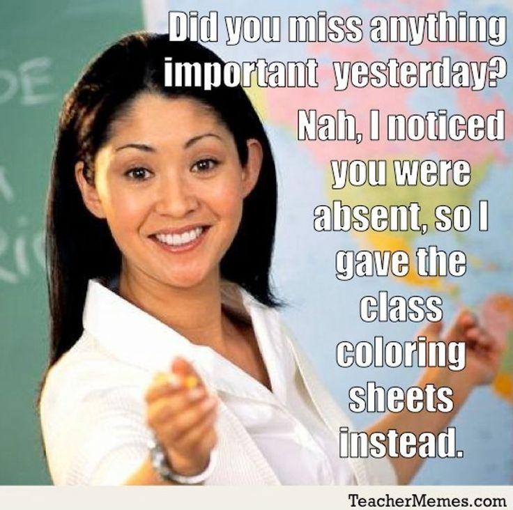 Attendance Teacher Memes Classroom Memes Teaching