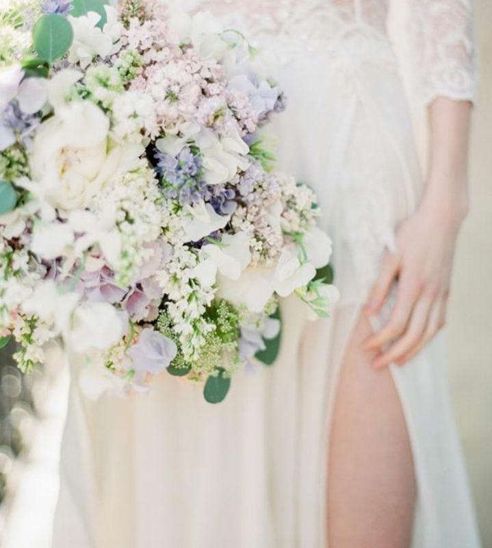 #WeddingBouquet - ślubny bukiet na Instagramie , fot. Instagram/oncewed