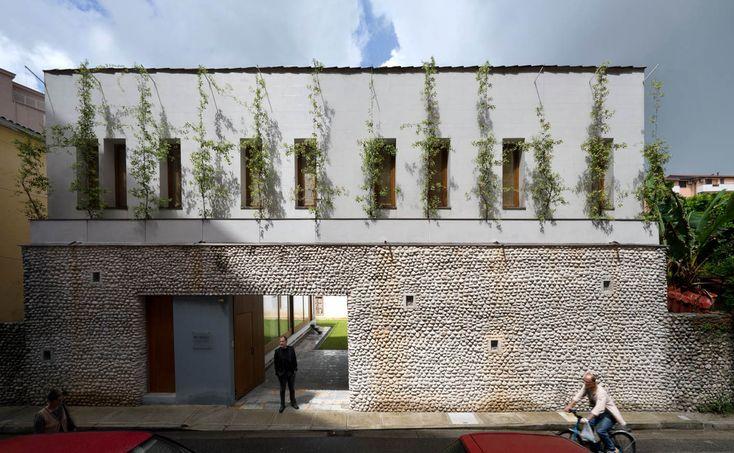 The Courtyard house Scutari (Albania) Filippo Taidelli Architetto