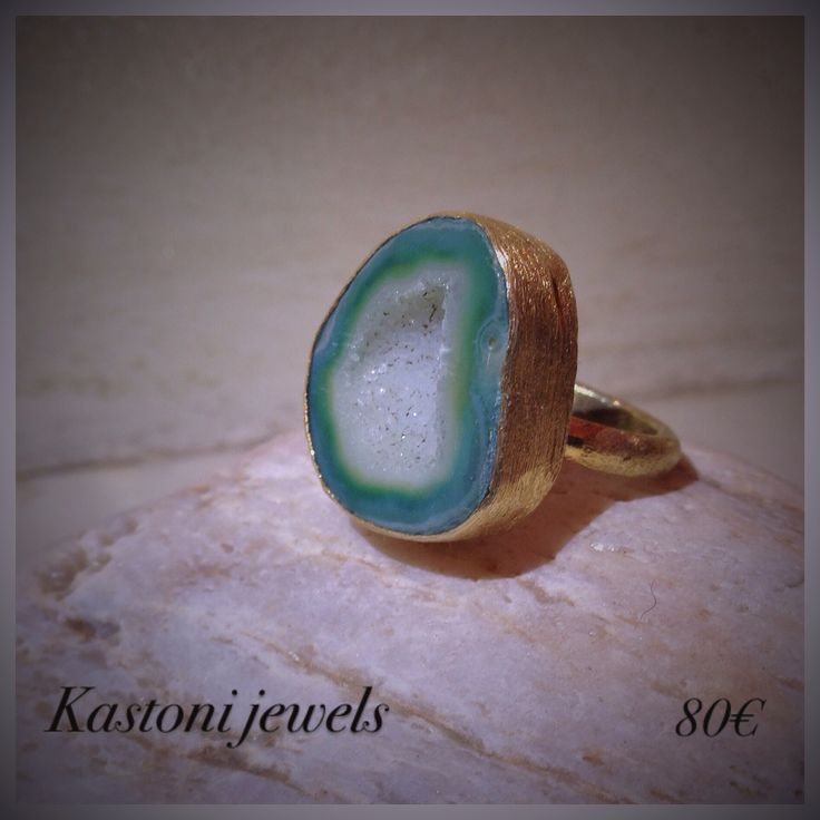 #Kastonijewels #Agate #ring #jewels #handmade #Gemstone