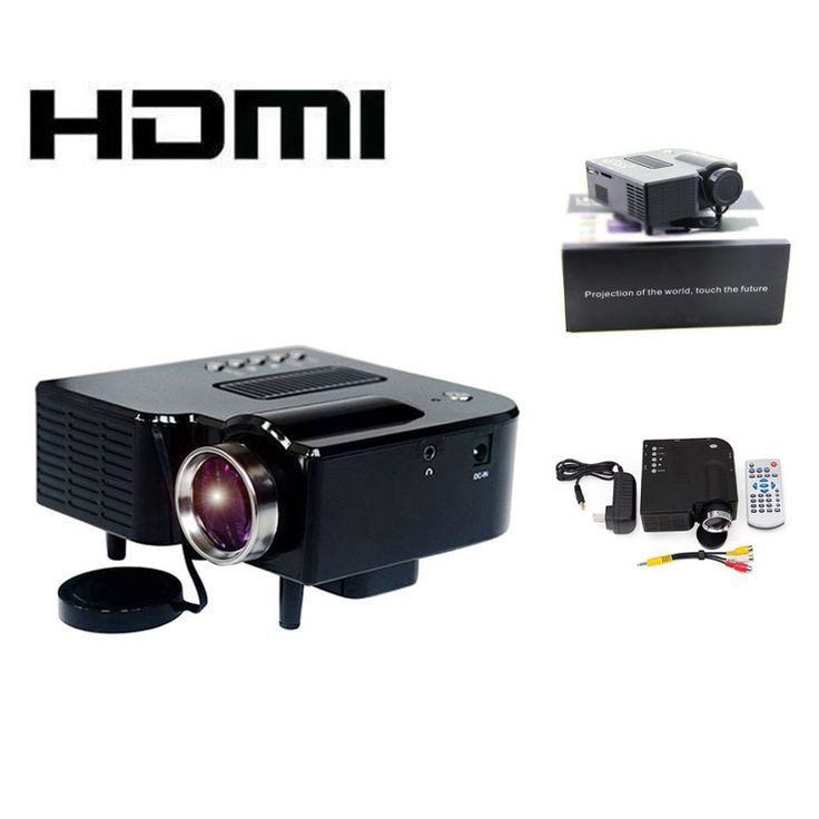 >> Click to Buy << Wholesale New Home MINI LED Pico HDMI Projector Mini Portable Digital Projector AV A/V USB & SD HDMI Projectors #Affiliate