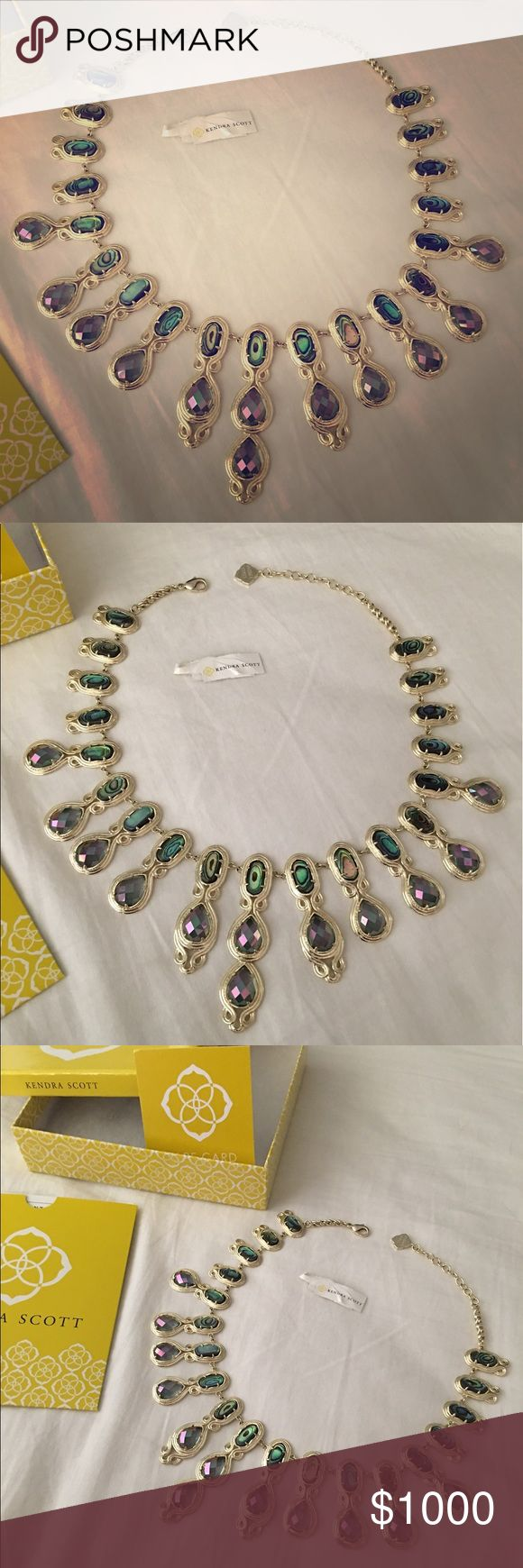 Kendra Scott authentic Whitney in abalone gypsy Authentic Kendra Scott Whitney in abalone gypsy. This is my first KS necklace purchase. Only willing to part for the right price. Always kept in the original box. Reviewing reasonable offers only. Thank you 🌺 Kendra Scott Jewelry Necklaces