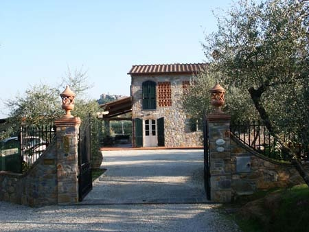 Holiday home in Lucca (Tuscany) Le Due Lanterne: the external area