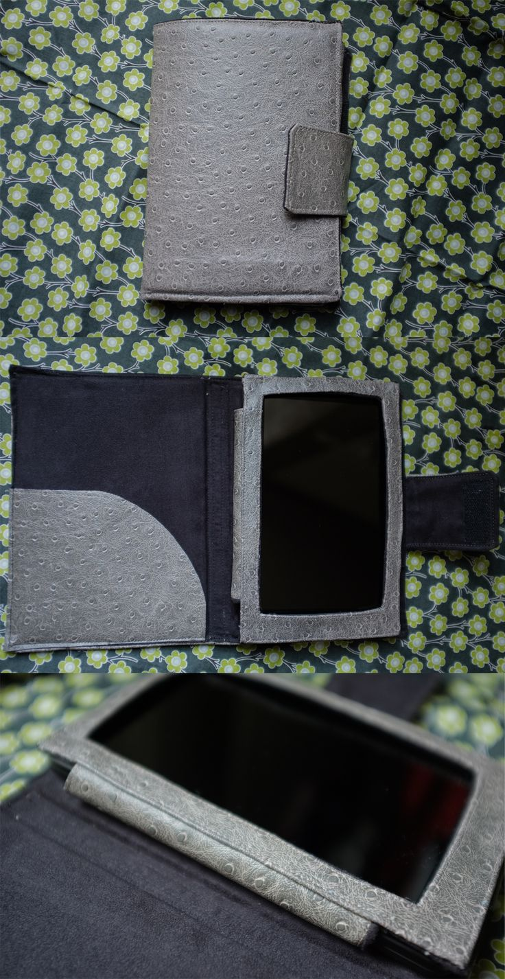 Home made kindle case