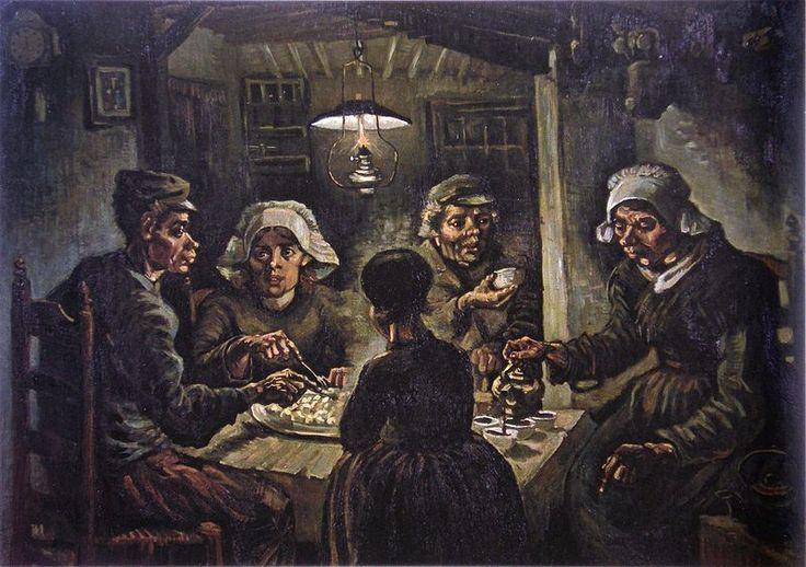 Van-willem-vincent-gogh-die-kartoffelesser-This Day in History: Dec 23, 1888: Van Gogh chops off ear