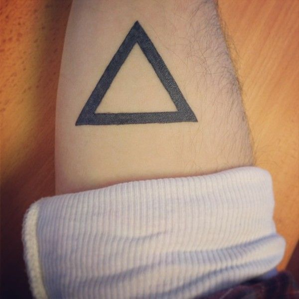 Triangle Tattoos Geometric Tattoos And: 110 Best Images About Triangle Tattoos On Pinterest