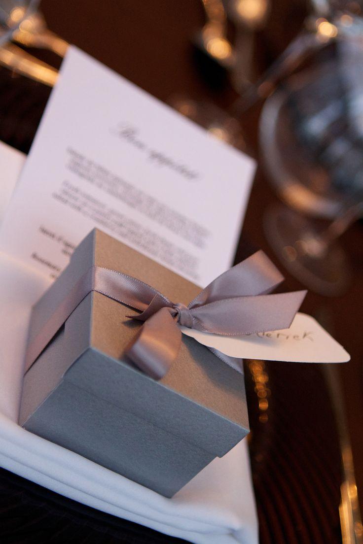 Petit présent pour les invités / Guest favors