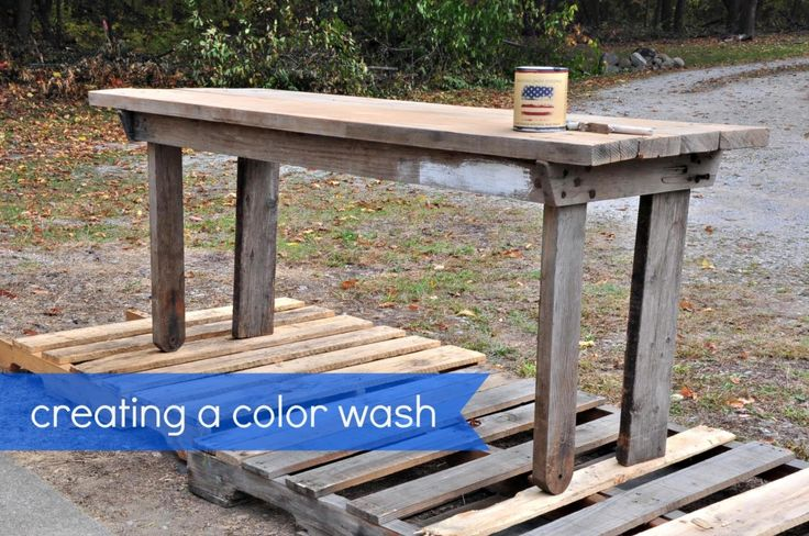 How to create a color wash with clay/chalk/mineral base paint — American Paint Company
