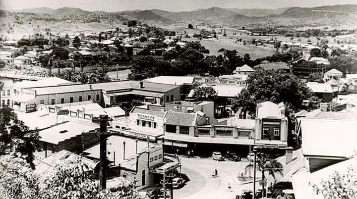 The city of Murwillumbah, NSW in 1935.