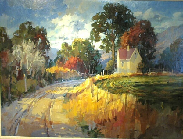 the light is beautiful in this. Artist, Steve Songer.