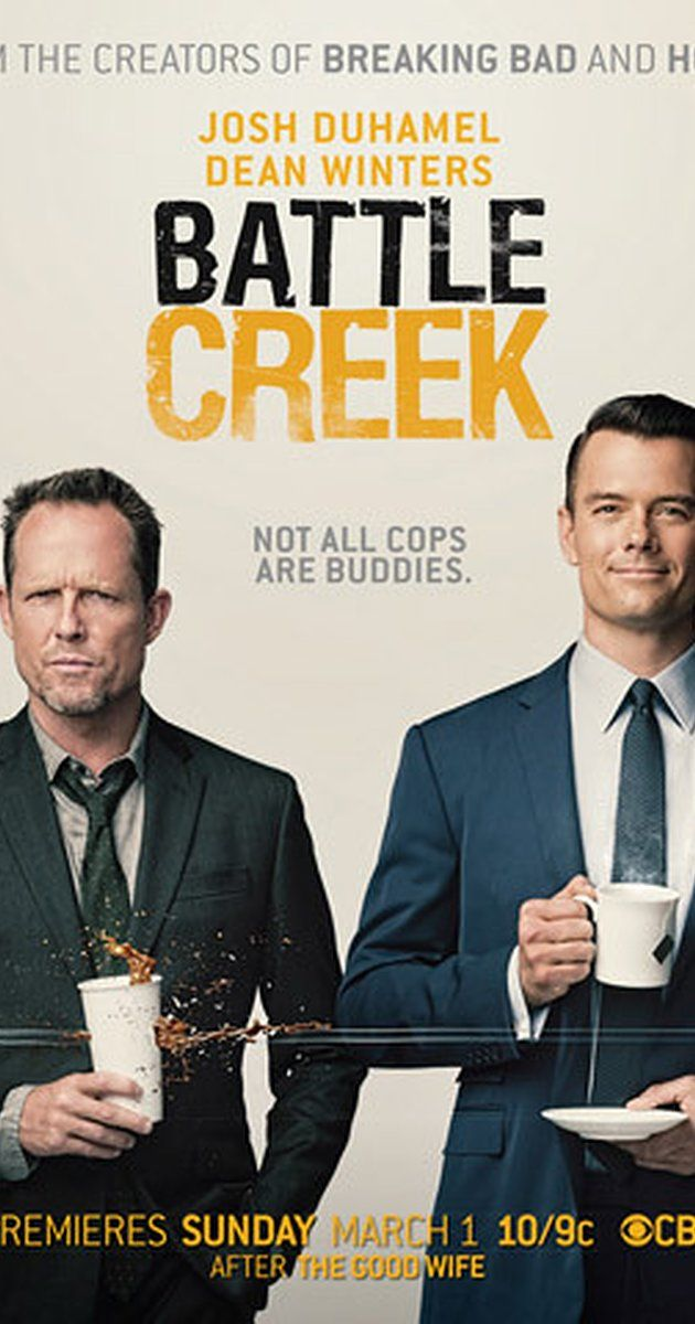 Created by Vince Gilligan, David Shore.  With Josh Duhamel, Dean Winters, Aubrey Dollar, Grapevine. Two detectives with different views on the world team up and using cynicism, guile and deception, they clean up the streets of Battle Creek.