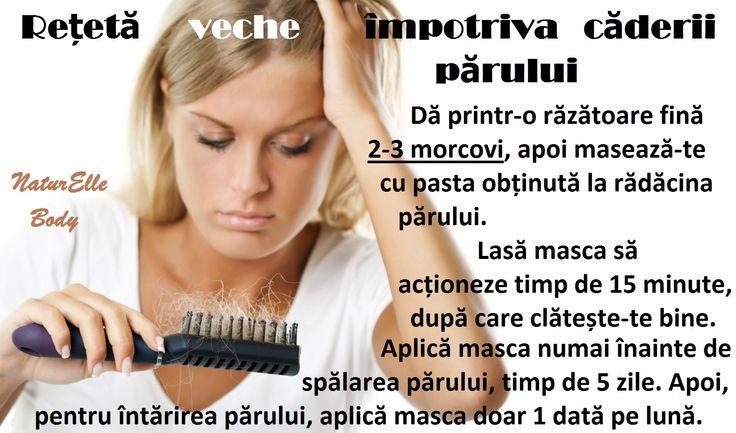 Rețetă veche împotriva căderii părului