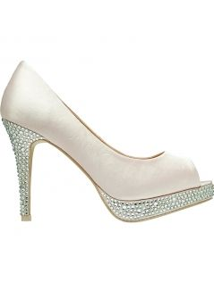 FOREVER NEW Blush Alicia Peeptoe Heel was R800 now R399 only at RunwaySale.co.za
