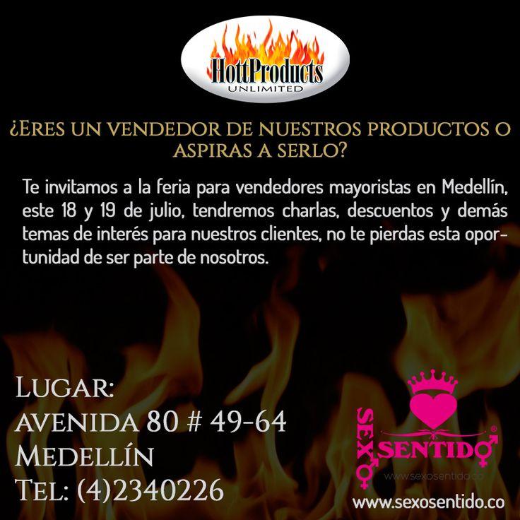 Los invitamos a la feria Hottproducts en #Medellín , es tu oportunidad de acceder a nuestra familia de mayoristas con descuentos y la mejor bienvenida, tendremos charlas educativas, muestras de productos y mucho mas! los esperamos este 18 y 19 de julio de 10 am a 6pm