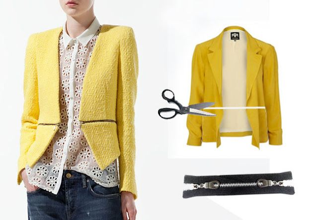 DIY convertible jacket inspired by Zara (courtesy Matter of Style: Eye on Fashion)