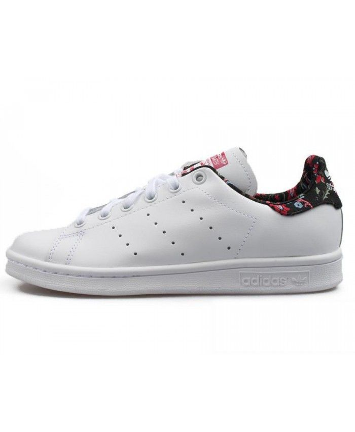 new style 280d5 490d2 Adidas Originals Stan Smith Flower White S79412 Trainers ...