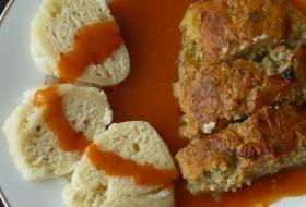 Jak udělat dobrý houskový knedlík z nekynutého těsta | recept