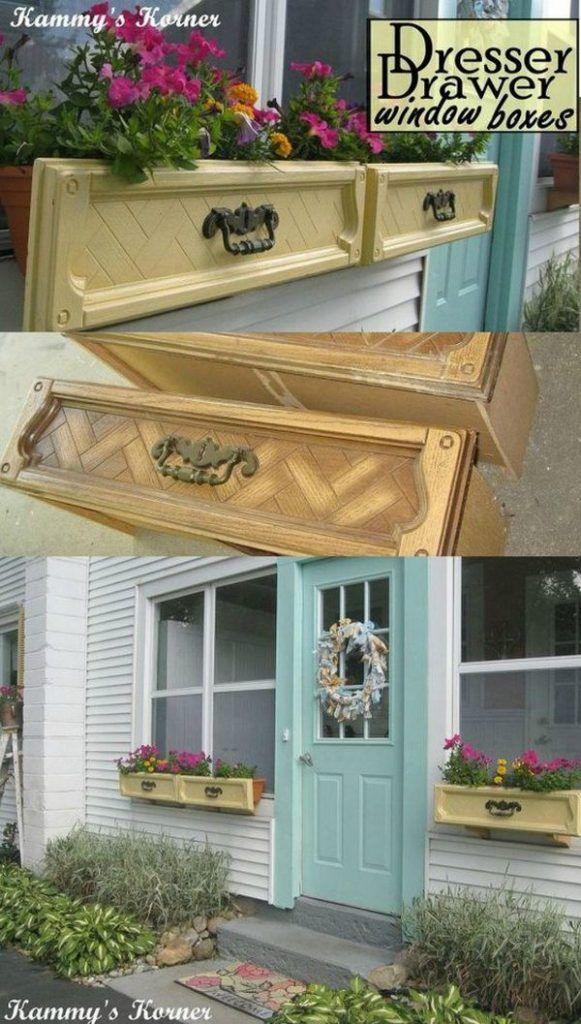 17 migliori idee su fioriera su pinterest fioriere per - Fioriere per davanzale finestra ...