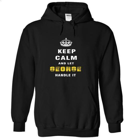 IM GEORGE - #tshirt pattern #sweatshirt refashion. I WANT THIS => https://www.sunfrog.com/Funny/IM-GEORGE-pavoz-Black-Hoodie.html?68278