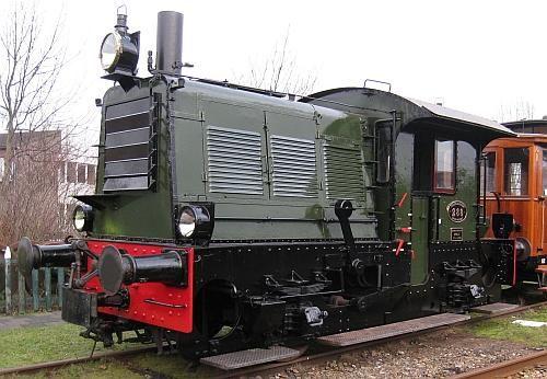 Nederlandse Spoorwegen Diesel Switcher 288