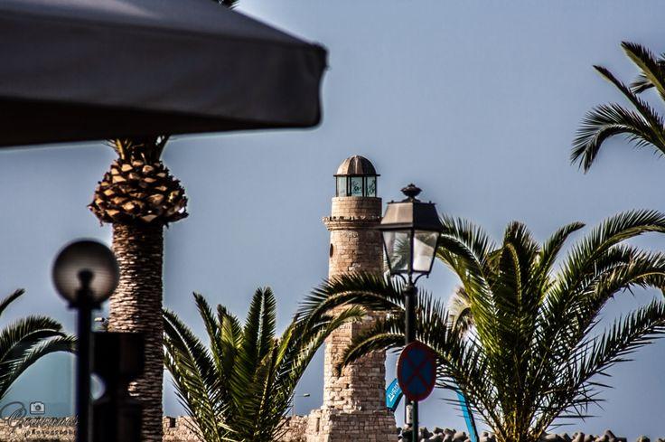 Lighthouse in Rethimno port