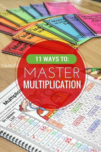 11 Ways to Master Multiplication! Mastering Multiplication facts is such an…