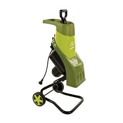 Chipper Shredders Outdoor Power Equipment 14 Amp Electric Motor Wood Mulcher New
