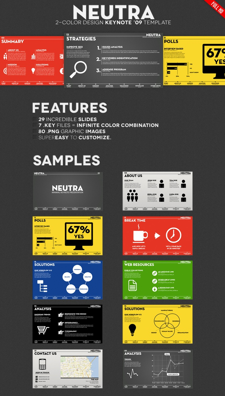 Neutra - Two Colors Presentation