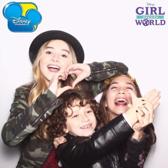 Girl Meets World Photo Shoot with August Maturo and Sabrina Carpenter