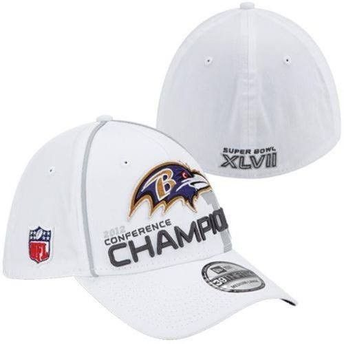 Baltimore Ravens 2012 AFC Conference Champions hat New Era NFL new 39Thirty