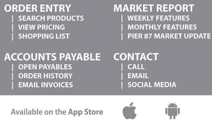 With Seacore App stay on top of your Payables with instant info on - email invoices