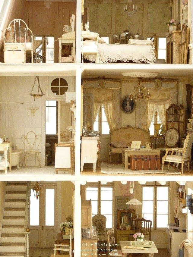 Pin By Atelier Miniature On Maison De Lea Lea S House Dollhouse
