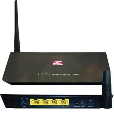 Zoom Telephonics - DSL Modem WiFi router