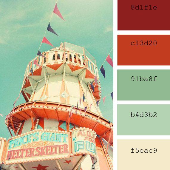 Paletas de colores Pantone: