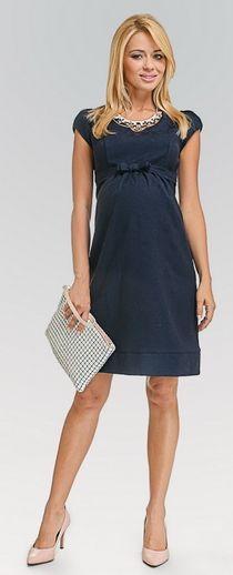 Bellissima navy вечернее платье для беременных