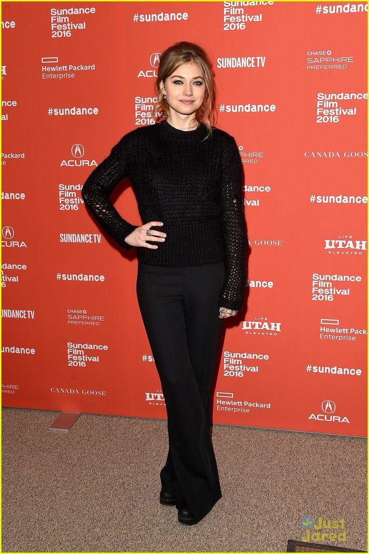 Imogen Poots Hits Sundance to Premiere 'Frank & Lola'