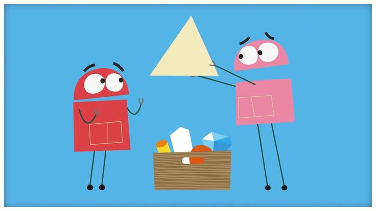 """""""Triangles,"""" Songs About Shapes by StoryBots (""""I'm A Triangle"""")"""