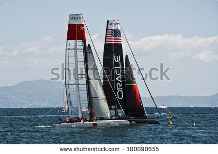 Sailboat At Sea Stock Photography | Shutterstock
