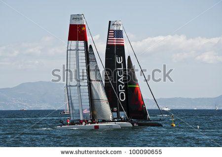 Sailboat At Sea Stock Photography | Shutterstock