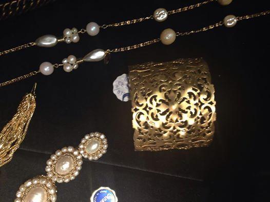 insieme di gioielli